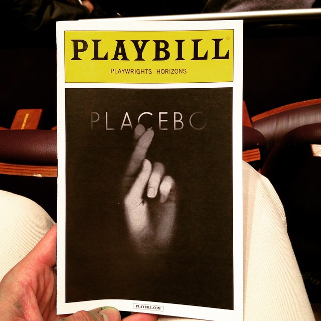 #TonightsBill #Placebo #PlaceboPH @phnyc CARRIE COON YES.