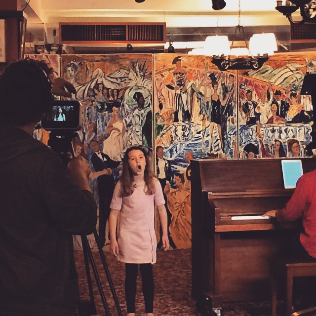 #IowaPH's very own Kolette Tetlow, singing her heart out for her upcoming @playbill feature!