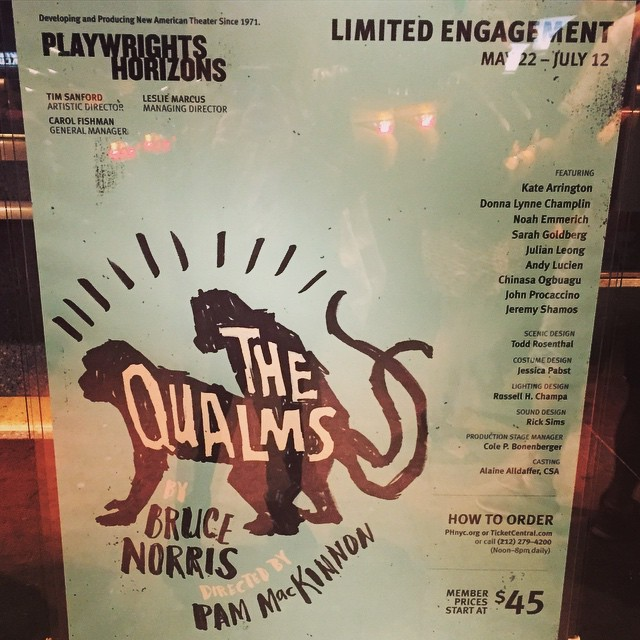 At the swingin' party down the line #TheQualms