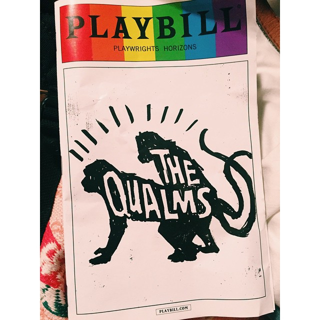 #PlaybillPride is here, and #TheQualms is in the spirit!