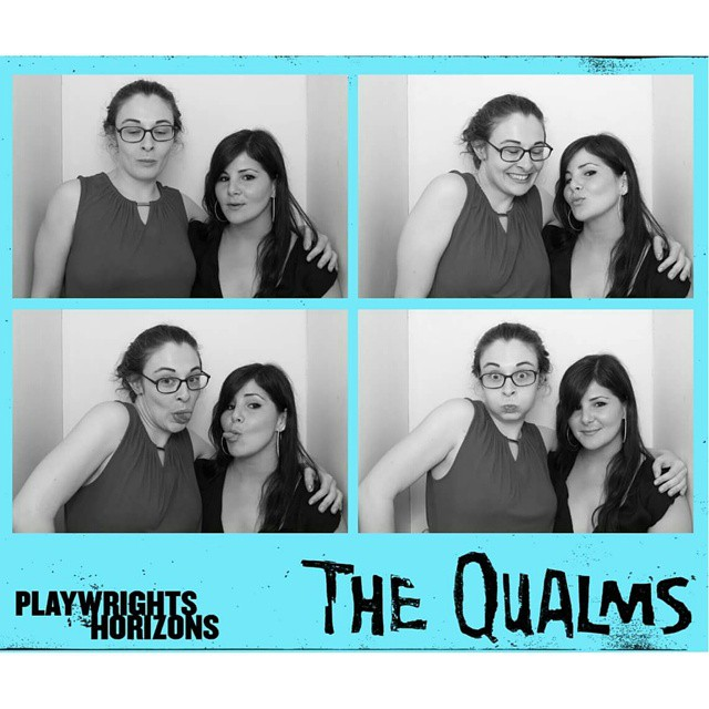 #TheQualms @phnyc with my cuntagious star! #NYC #theatre