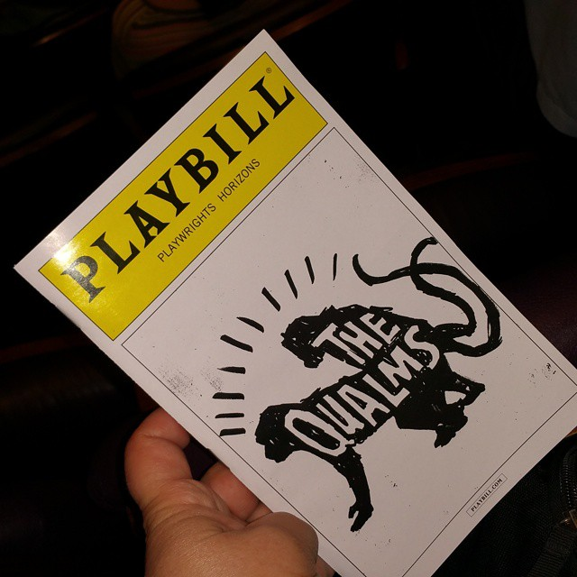Seeing #thequalms tonight with Scottie!