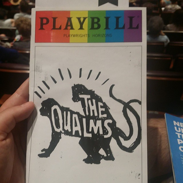 Catching #TheQualms at @PHnyc!