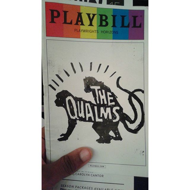 Such a great show and the cast is freaking PHENOMENAL!! #TheQualms  #theater #nycactor #offbway