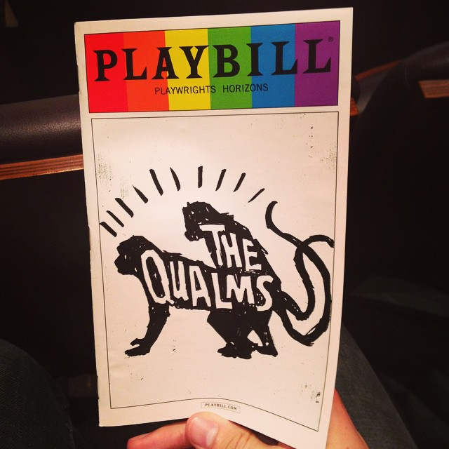 #TonightsBill #TheQualms @phnyc  #PridePlaybill #Pride First official pride playbill yay! @kylasaures_rex