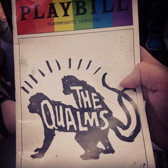 Just finished watching this amazing play. #thequalms