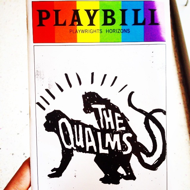 Today's show: #TheQualms at @phnyc! #PlaywrightsHorizons