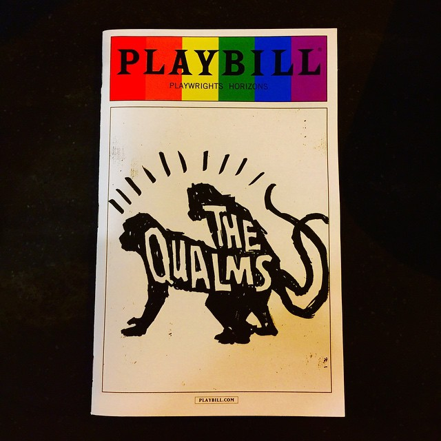 So happy to have gotten the final ticket for this exceptional production! Wonderfully written by Bruce Norris and brilliantly directed by Pam MacKinnon! #TheQualms #PlaywrightsHorizons