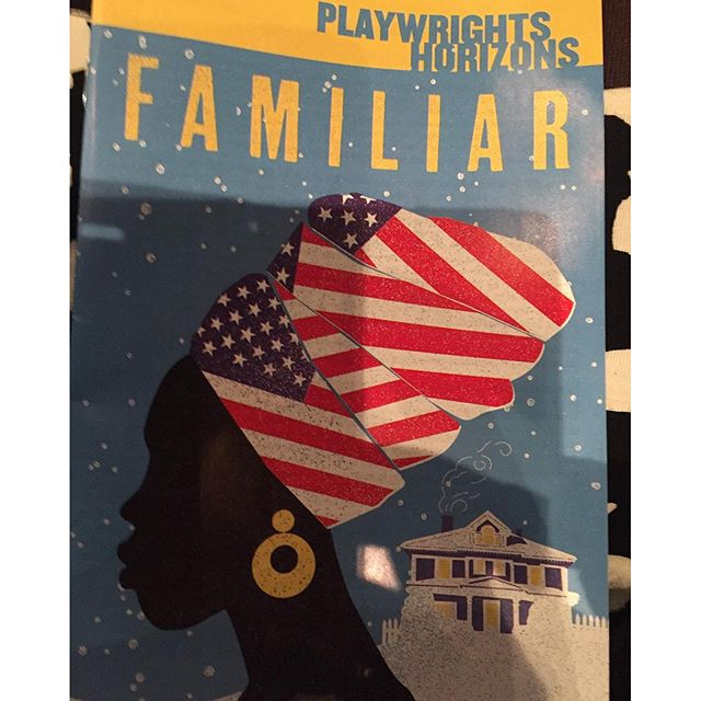 #familiar #broadway #theater @danaigurira #walkingdead #familiarPH