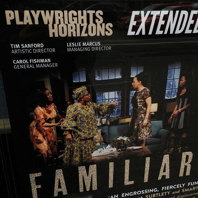 Today, we're catching up with @MsTTunie and company in @danaigurira's #FamiliarPH at @PHNYC