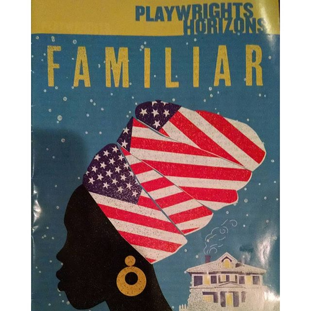 I followed up Eclipsed with Familiar. @danaigurira you are doing the damn thing. You are definitely must see theatre. I cant wait for your next project. #familiarPH #phnyc