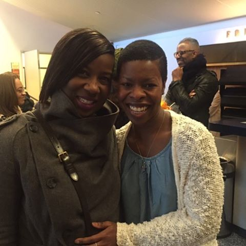 Awesome play #familiar ... My friend Rosyln Ruff ... Beautiful day spent with the ladies!!!! #NYC #theater #Familiar #RosylnRuff #sisterhood #surprise.. Lmbo.. Much love \U0001f609\U0001f917 #FamiliarPH