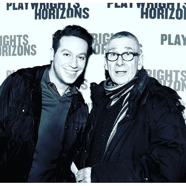 So honored to catch the opening of the incredible play #FamiliarPH this weekend with founder Bob Moss #cousins #playwrightshorizons #latergram