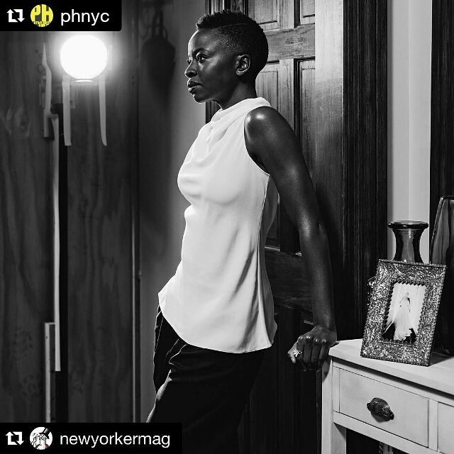 "#Repost @phnyc with @repostapp\n\u30fb\u30fb\u30fb\n""The playwright Danai Gurira has a nearly unerring ear for making popular theatre without compromising authenticity."" #Repost of @danaigurira's stunning portrait in @newyorkermag review of #FamiliarPH. \U0001f4f7: @geordiewood"