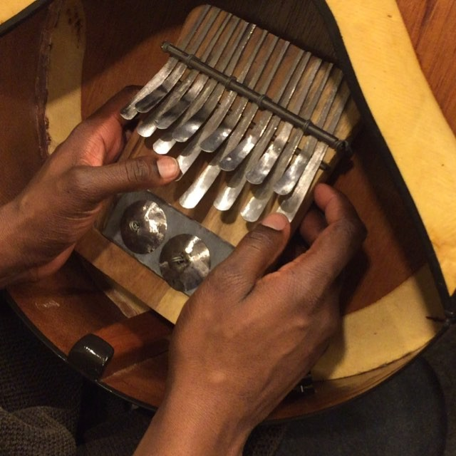 Look what I learned this week!?! #mbira #harderthanitlooks #craftyfingers #callusesfordays #aspiringpercussionist #characterbio #familiarPH @tylerjpines @jesseb3tc