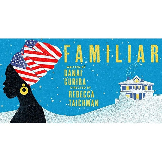 This is a marvelous story about #immigration and the battle between embracing ones heritage vs #assimilation. This family from #Zimbabwe made me laugh and cry. A not to be missed production with a wonderful cast. #FamiliarPH #DanaiGurira #TamaraTunie #Familiar #HighDrama #PlaywrightsHorizon