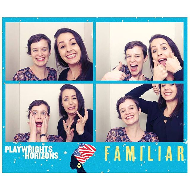 Last night was another successful night of theatre and photobooth shinanigans at Playwrights with my awesome coworker! #FamiliarPH