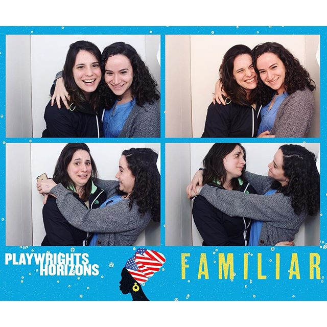 Me and this bb are gonna be 5 for 6 @phnyc shows together this season. Thankful for great theater and beloved theater buddies! #FamiliarPH