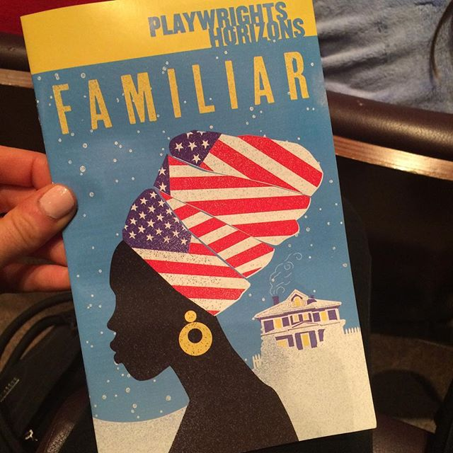 Enjoyed my night at the theater! Thank you, @phnyc!!! #familiarph \u2764\ufe0f