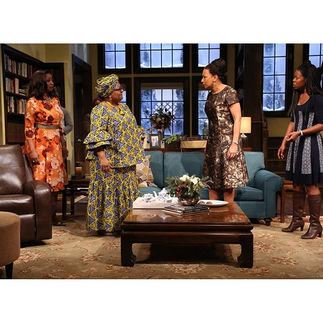 Our wonderful friend and Board member @tamaratunie is in #FamiliarPH by @DanaiGurira, now at @PHNYC!