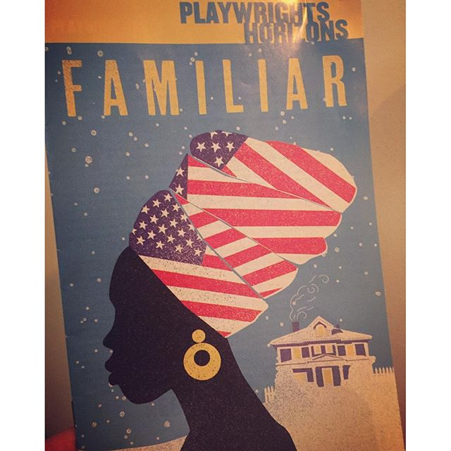 Would like to encourage you all to see Danai Gurira's breathtaking new play FAMILIAR at Playwrights Horizons. The final moment is everything I hope for when I enter a theater. #FamiliarPH