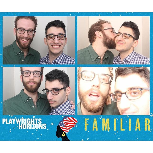 @davidrosengram is the best date on a Sunday afternoon and FAMILIAR by Danai Gurira is an exquisite play at Playwrights Horizons. Everyone must go. #FamiliarPH @phnyc