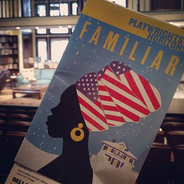 Family. Everyone's got one.  It's #theaterseason #familiarph #playwrightshorizons #nyctheater