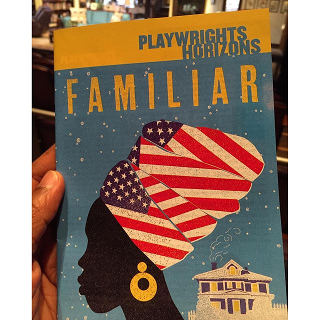 Can't WAIT to see #familiarph #celebrateandcreate #tisch #nyc