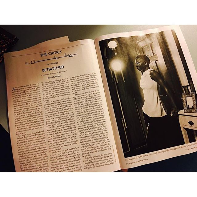 @newyorkermag's review of #FamiliarPH! Thank you for spotlighting this project so near & dear to me