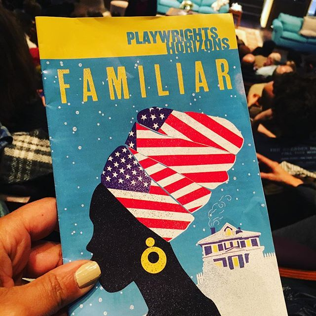 This. #FAMILIAR The play I have been craving for. \U0001f44f\U0001f3ff\u2764\ufe0f\U0001f64f\U0001f3fe #danaigurira #tischNYU #familiarph #family
