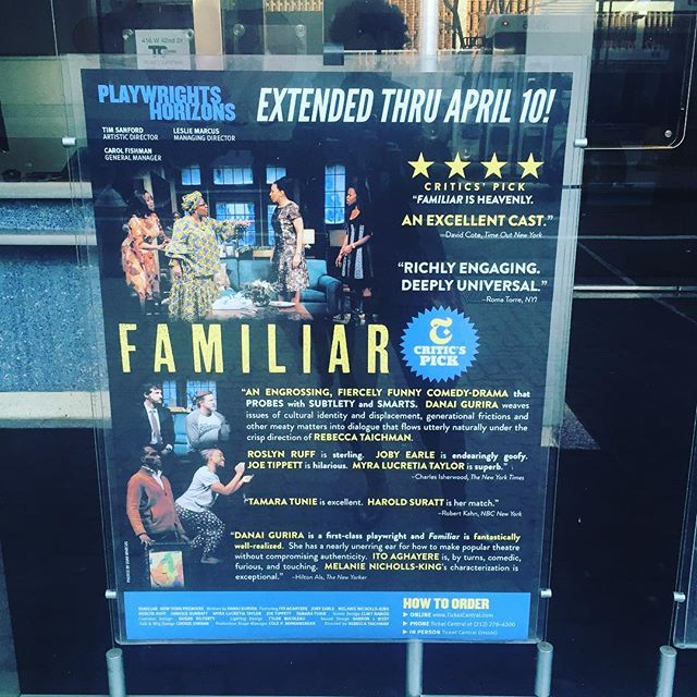 Thanks for all the love, New York! So excited that we get to keep telling this incredible story #FamiliarPH #cantstopwontstop @phnyc