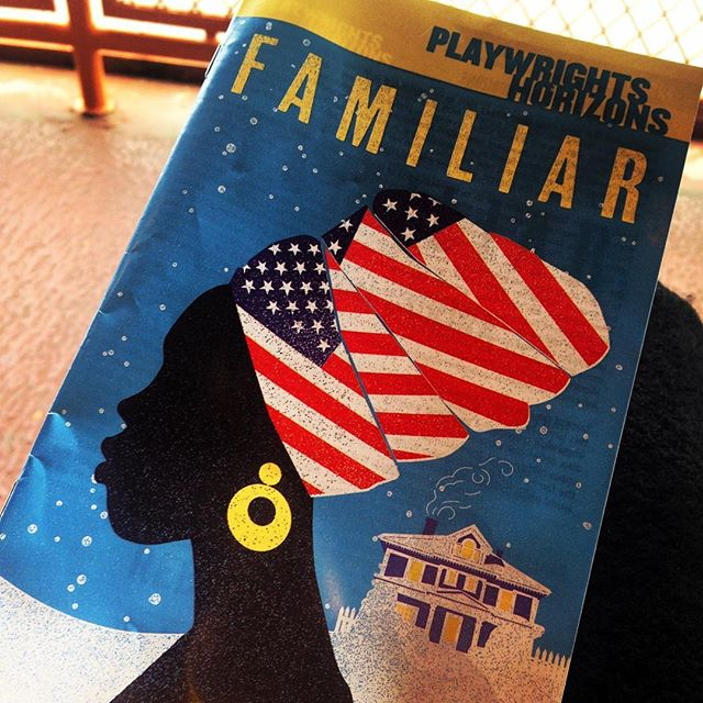 Decompressing on the ferry after witnessing this STUNNING production at @phnyc. I was the woman in the back row holding back (or not) full body sobs during the last 5 minutes. Everyone, go see this! #nyctheatre #familiar