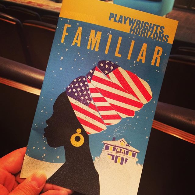 Interested to see @danaigurira's #FamiliarPH at @phnyc