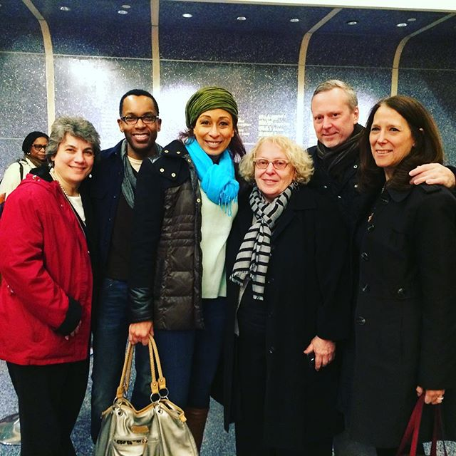 We were thrilled to support and see @tamaratunie in #FamiliarPH tonight at @phnyc! Bravo!