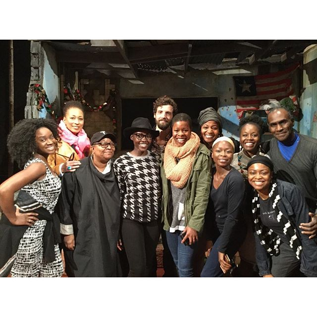 #FlashbackFriday Thank you to our BRILLIANT #FamiliarPH family for visiting us this week! @phnyc @msttunie @melanienichollsking #JobyEarle #MyraLucretiaTaylor #HaroldSurrat