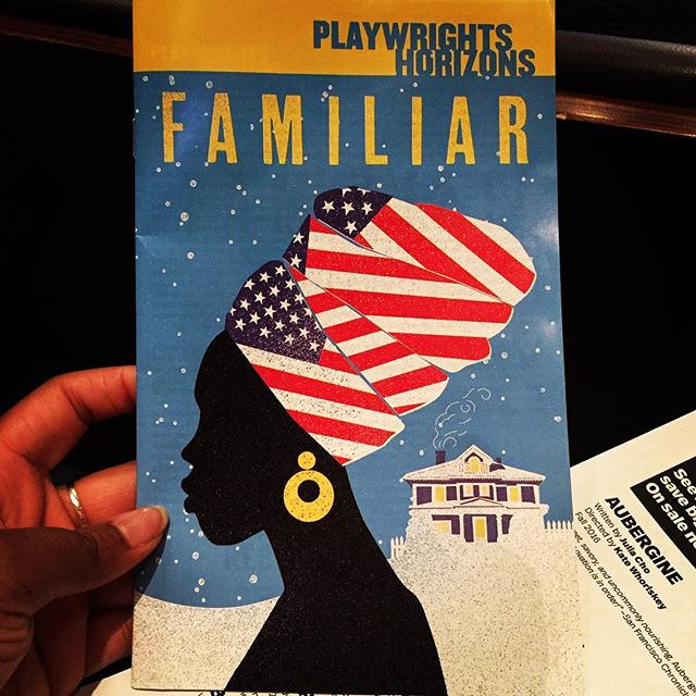 Closing night of #familiarph so happy I made it out! @danaigurira I am definitely a fan! #theatre #play #art #love \u2764\ufe0f