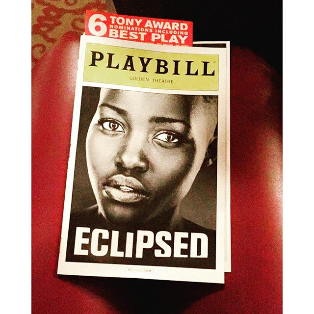 Loved this show! Interesting seeing the difference in @danaigurira writings from @eclipsedbway and #FamiliarPH. Both are extremely funny and leaves and impact on your heart while Eclipse removes the blinders that we all have when it comes to events that happen outside of the US. Some of us may be informed but all the information we receive have been filtered in one way or another and filled with bias. Eclipsed gives you a first hand account of the women and their means of survival during a war. More important they give these women a voice and says their name! #SayHerName \nThe only thing that separates any of us is opportunity. \nThose 6 Tony nominations are more than well deserved! The entire cast is phenomenal! \u2764\ufe0f
