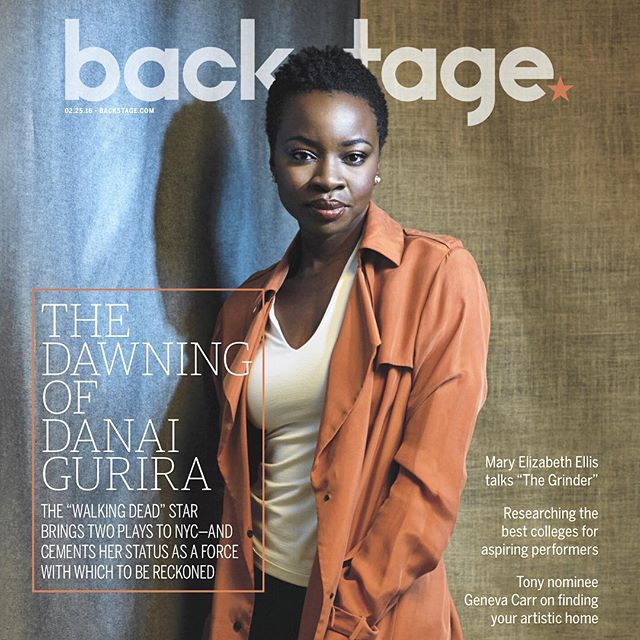 Thank you @DanaiGurira for all you do! In this week's @backstagecast the playwright-actor-activist chatted with me about #Eclipsed, #FamiliarPH, #TheWalkingDead, & her new awareness campaign #LoveOurGirls!