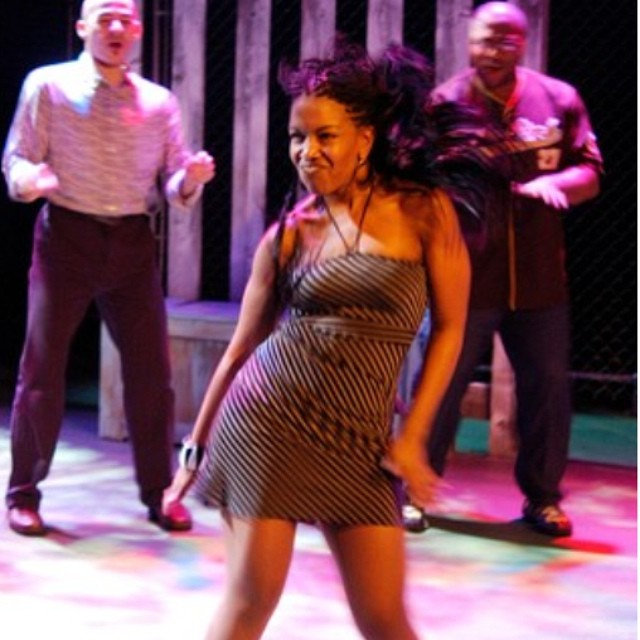 Throwback Thursday! My first time in the world of Robert O'Hara in 2007 in Insurrection:Holding History under the direction of Timothy Douglas! The beginning of two beautiful relationships! #bootycandy #theatrememories