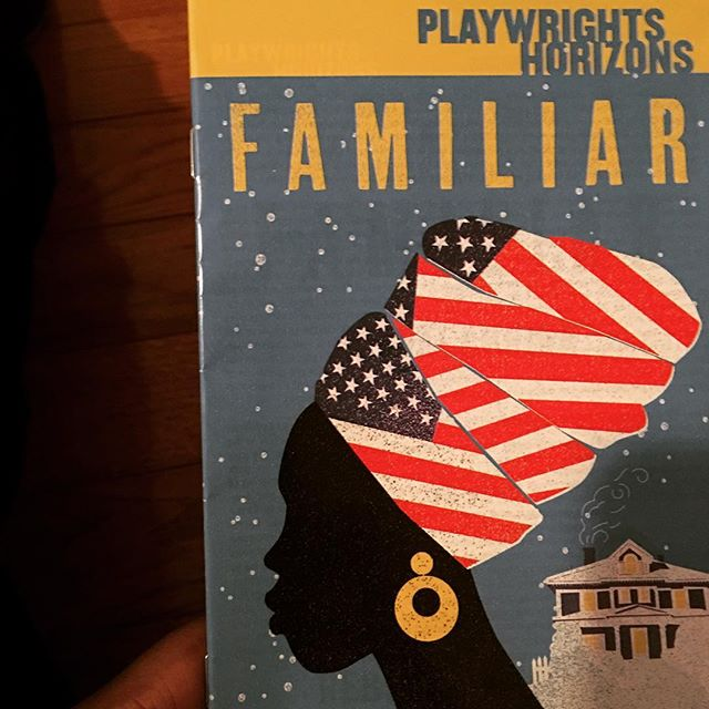 "@danaigurira's ""FAMILIAR"" playing at @phnyc is brilliant! Actors - excellent! Script moves seamlessly! Set & lighting design is gorgeous (from day to night)! (*_*) If her goal with this piece is to leave the audience questioning the validity of what they've been told about their ""roots"" and ancestral history, she definitely succeeded - ha! So thankful to witness the work done by all involved with this piece. Thank you. <3\n\n#theatre\n#DanaiGurira \n#BuyBlack\n#theater\n#Broadway\n#OffBroadway\n#BroadwayBlack\n#FirstDayOfSpring\n#FamiliarPH\n#TheWalkingDead... Turned THEATRE lol"
