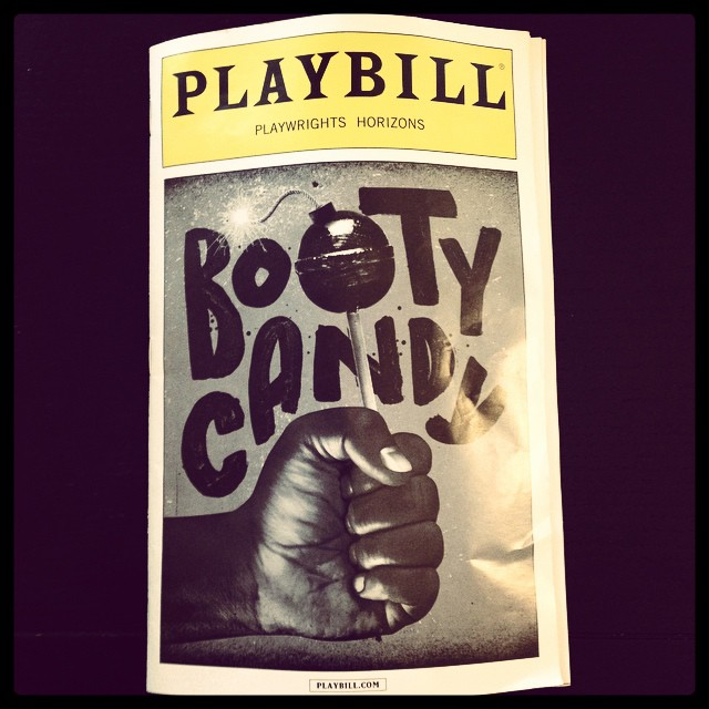 #bootycandy at #playwrightshorizons  What a riot!! Genius madness! Closes 10/19, get in there while you still can! Would love to meet playwright and director Robert O'Hara...#theatrenyc #genius