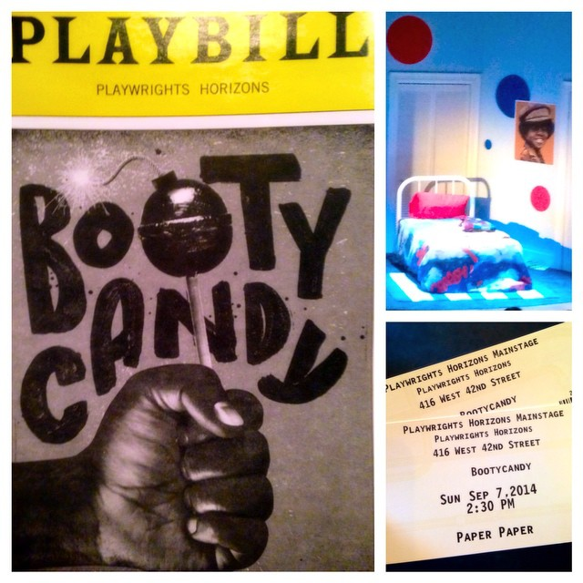 #fame #playbill #bootycandy #playwrightshorizons #nyc #ny #theatrerow