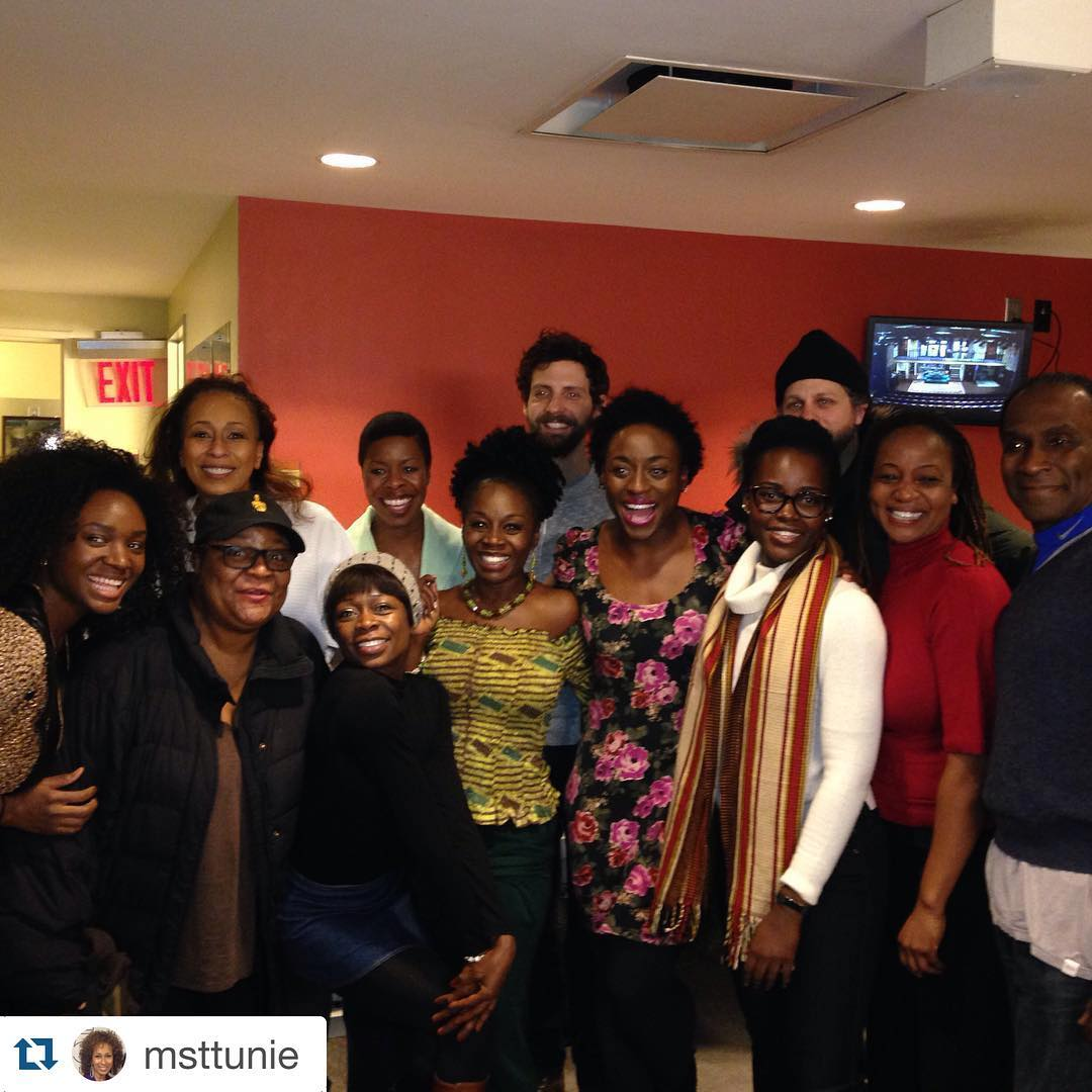 @eclipsedbway cast surprises #FamiliarPH at a performance last night! @danaigurira brings us all together. #repost via @msttunie