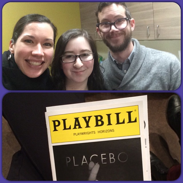 First preview!! Go team!! @phnyc #PlaceboPH