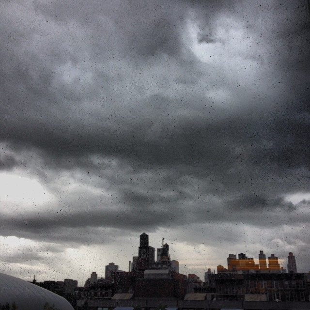 There's a storm coming (we know, we know)... #mrburnsplay #cloudporn