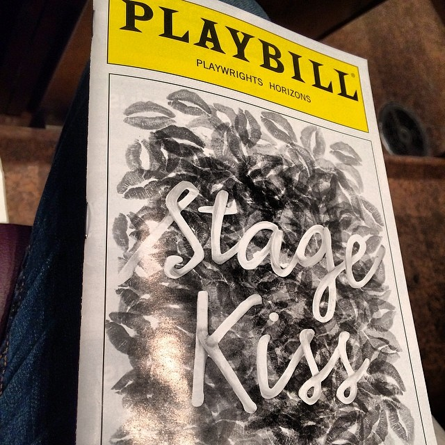 so this is happening. it's not every day you get to see a play in New York written by your favorite playwright. #sarahruhl #stagekiss
