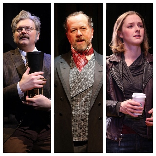 Only 6 more perfs of #WatsonPlay with @conjohnlee, David Costabile, and Amanda Quaid!  Closing Sun - do not miss!