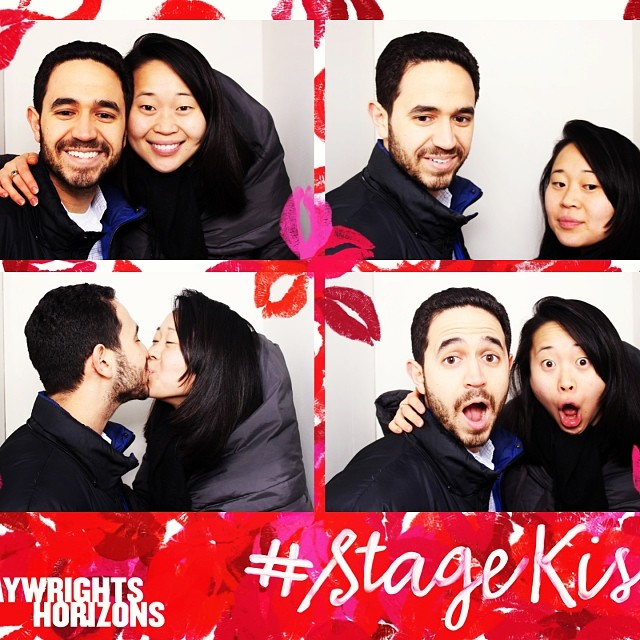 Happy Valentines Day #stagekiss #judgyface