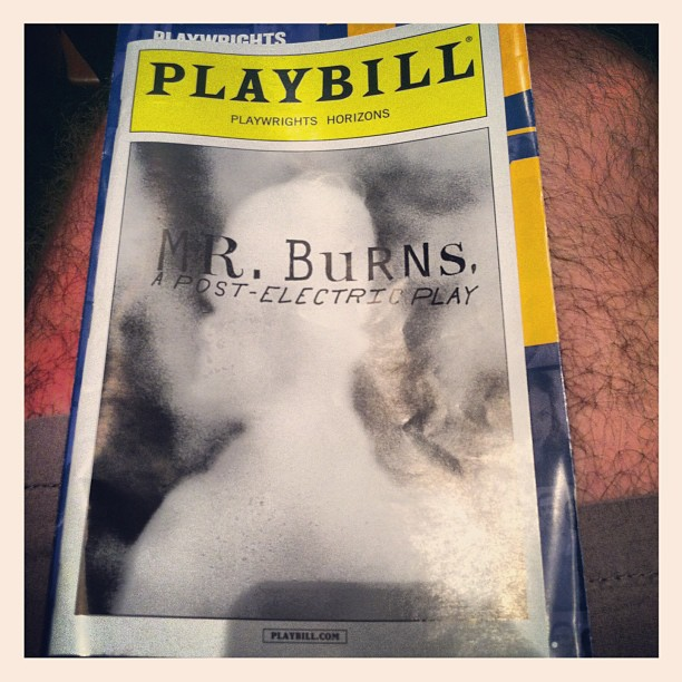 #TonightsBill #MrBurnsPlay @Phnyc PH is the best and they rock my world. @atchmarie