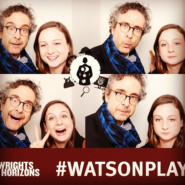 #tbt quality photobooth time w/pops. #wemustberelated #watsonplay #playwrightshorizons